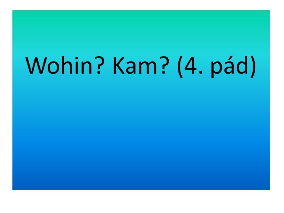Wohin Kam (4. pád)
