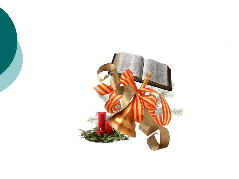 Weihnachten feiern wir am 24.Dezember. Wir feiern die Geburt Jesu Christi.
