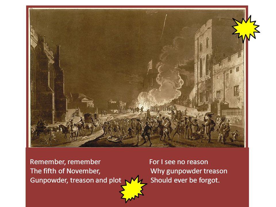 BANG!!.bonfire fireworks blow up rebels gunpowder James I.