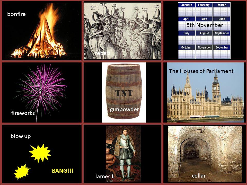 bonfire cellar king James I.