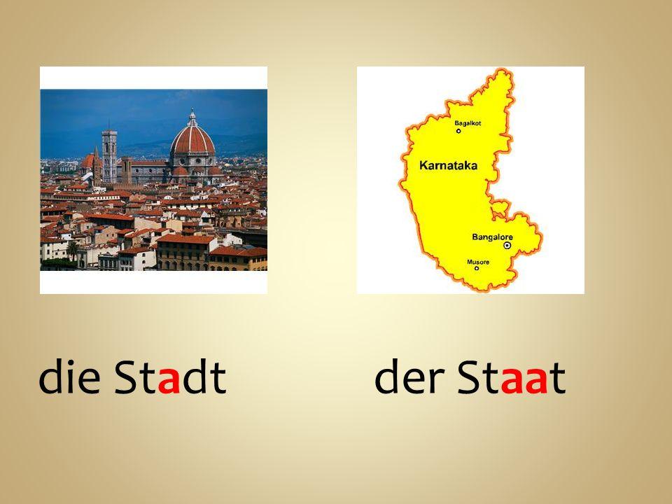 die Stadtder Staat