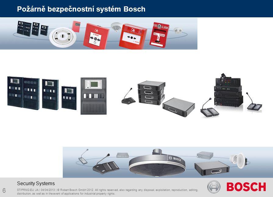 47 RADION wireless technology pre-view Security Systems ST/PRM2-EU JA | 04/04/2013 | © Robert Bosch GmbH 2012.