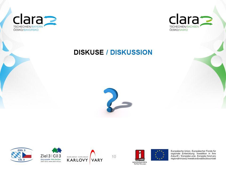 DISKUSE / DISKUSSION 10
