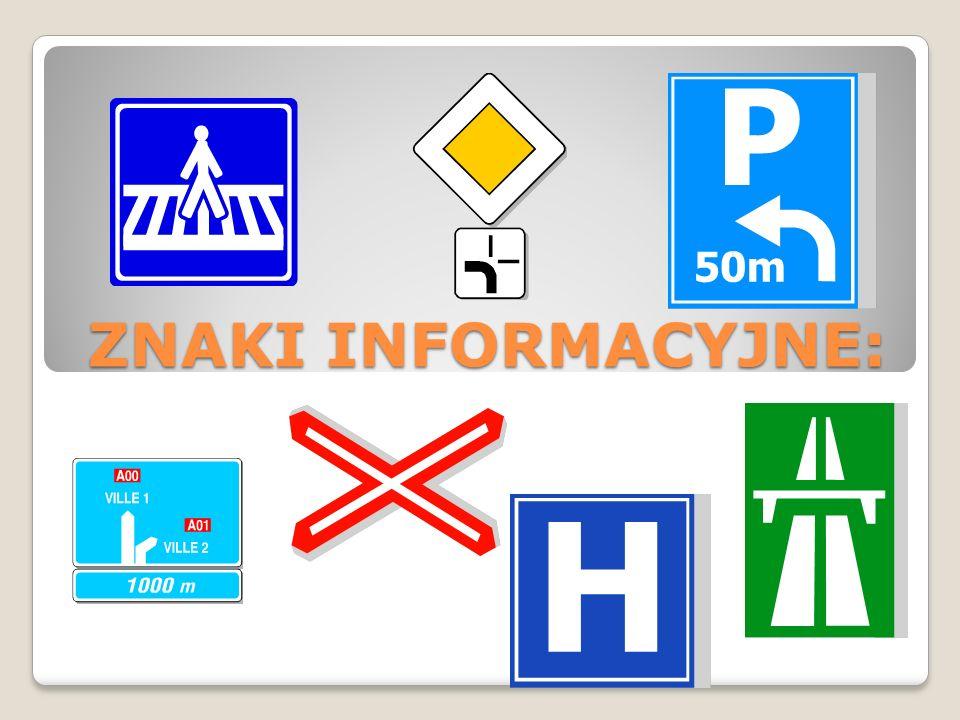 Spróbuj odgadnąć co to za znaki drogowe: