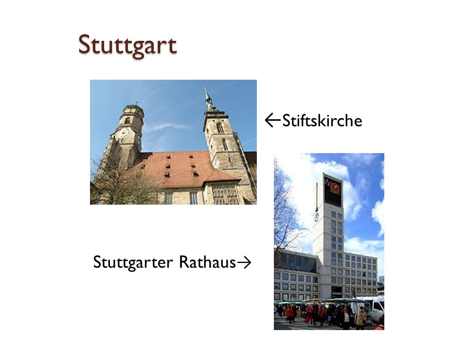 Stuttgart ← Schloss Solitude Schloss Hohenheim →