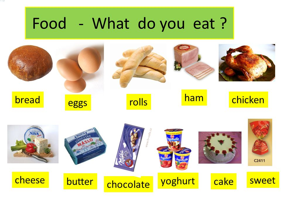 Food - What do you eat .