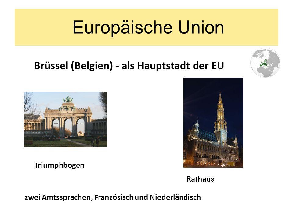 Europäische Union Euro – seit 1.1.2002 Eurobanknoten Euromünze Eurozeichen