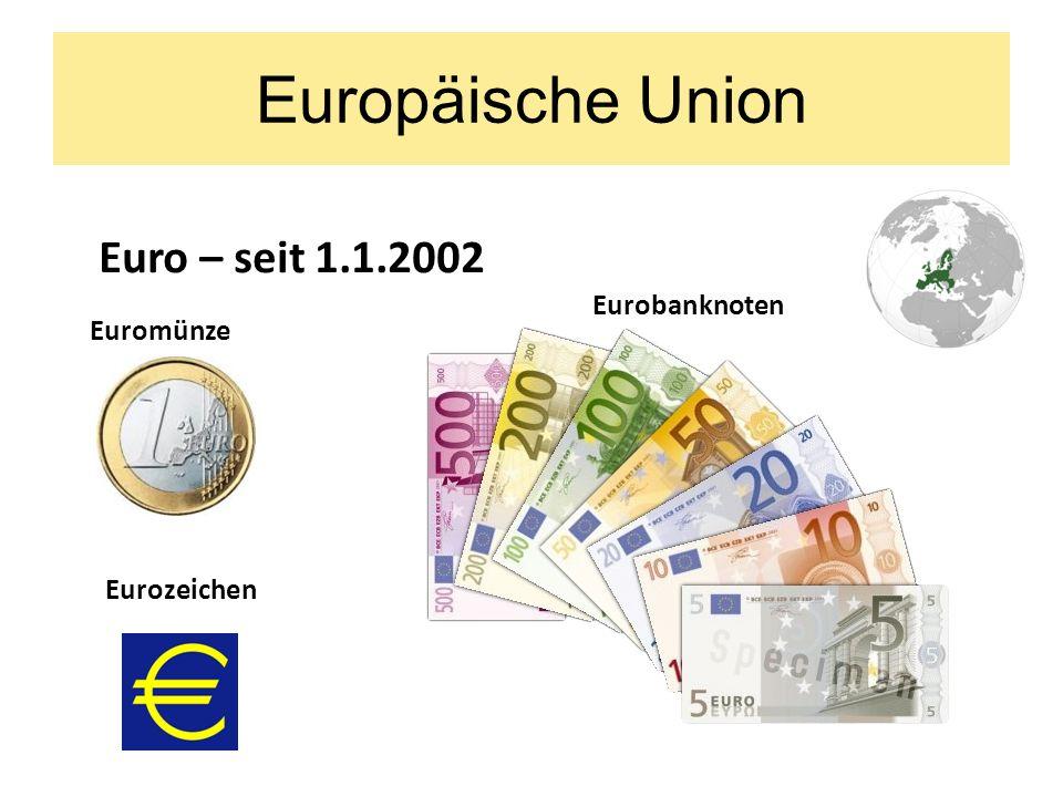 Europäische Union Die Tschechische Republik gehört zu EU seit 2004 im Jahre 2009 hat sie im EU-Rat vorgesessen
