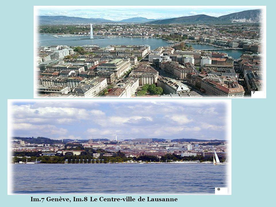 Im.7 Genève, Im.8 Le Centre-ville de Lausanne