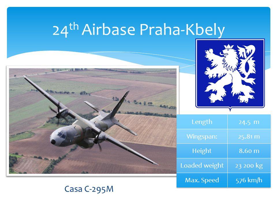24 th Airbase Praha-Kbely Casa C-295M