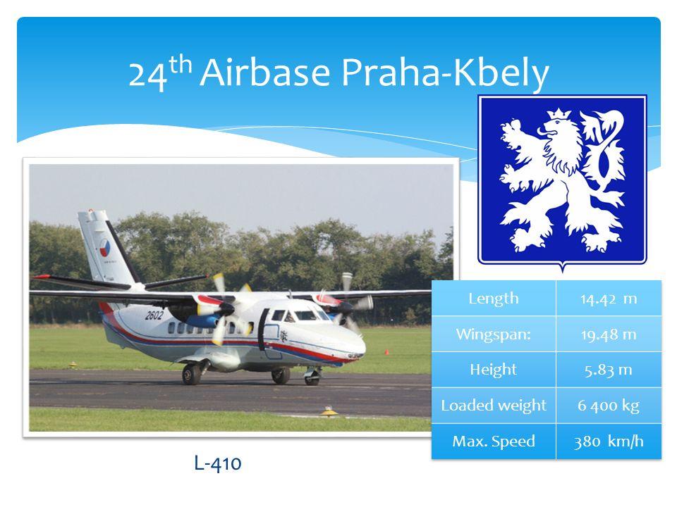 24 th Airbase Praha-Kbely L-410
