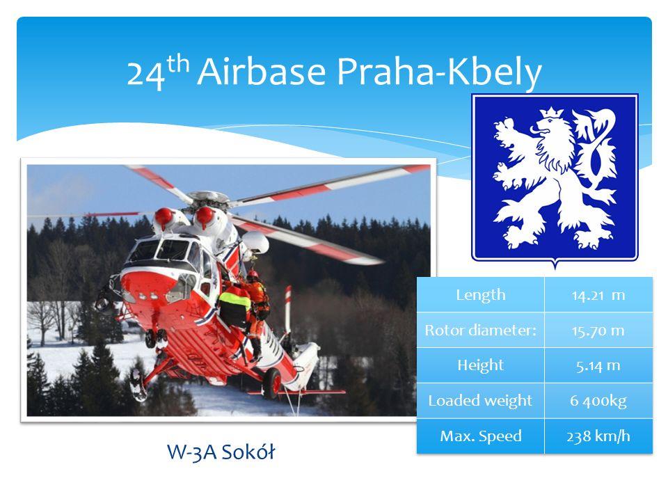 W-3A Sokół 24 th Airbase Praha-Kbely
