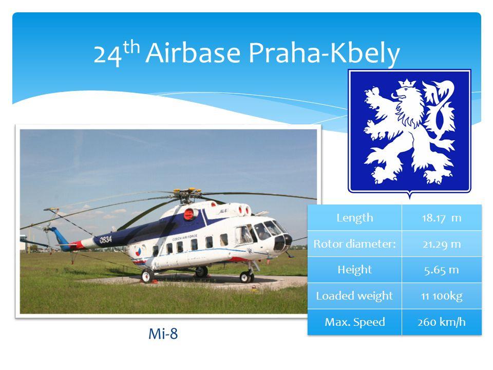 Mi-8 24 th Airbase Praha-Kbely
