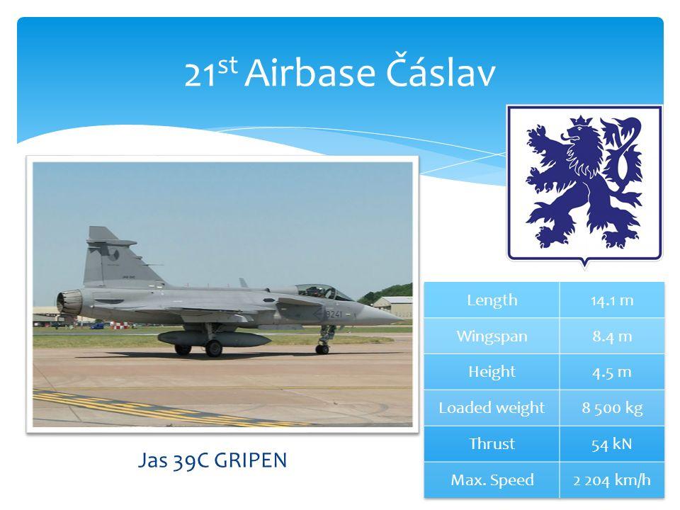 21 st Airbase Čáslav Jas 39C GRIPEN