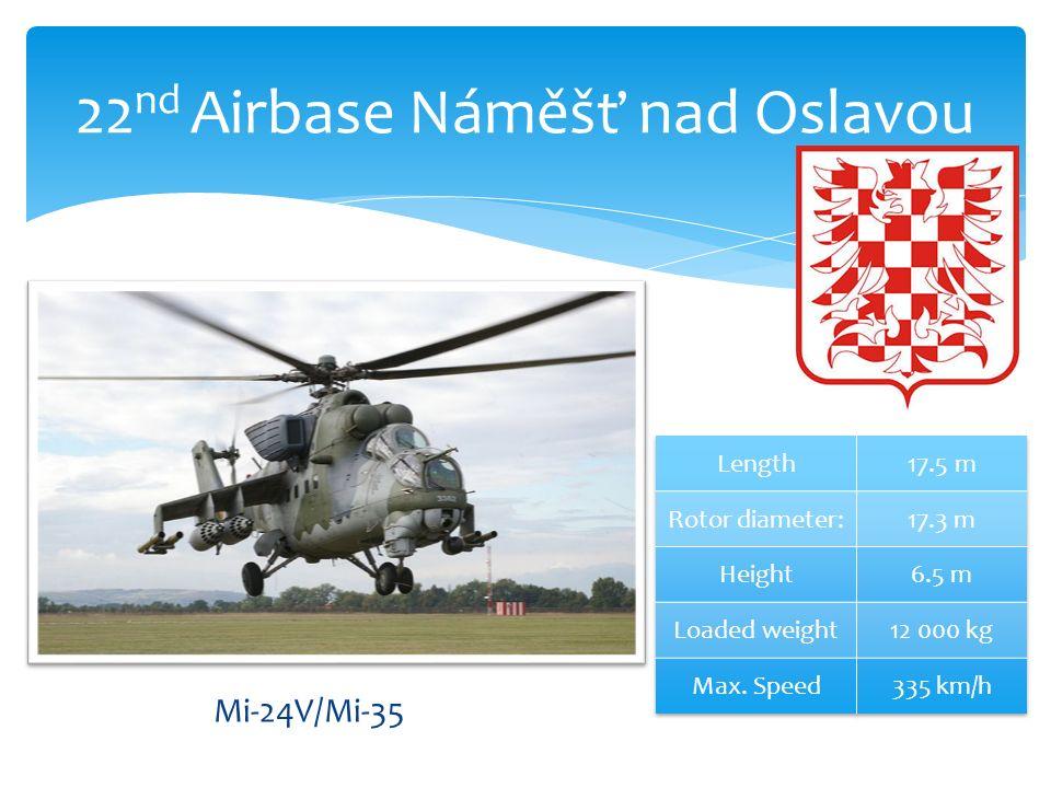 22 nd Airbase Náměšť nad Oslavou Mi-24V/Mi-35