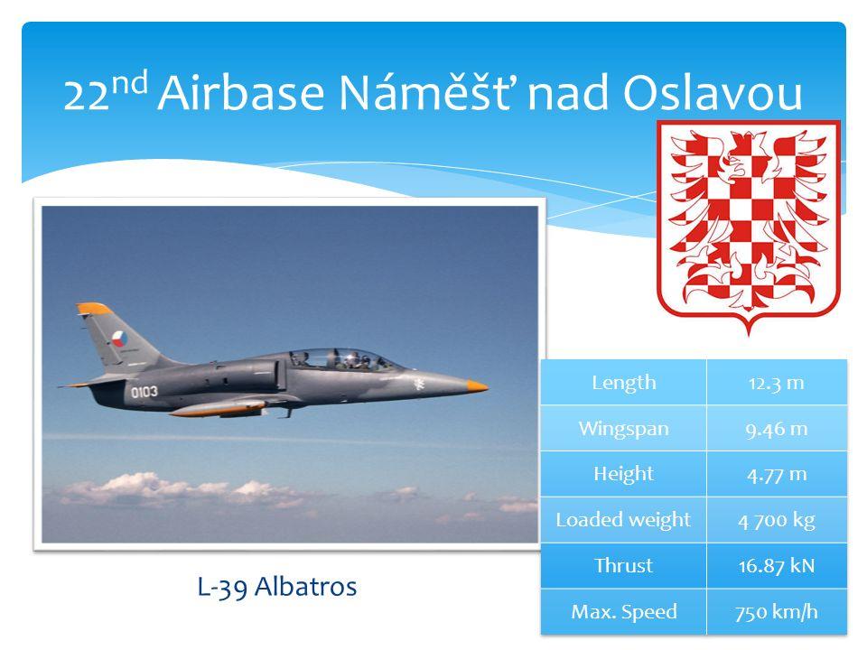 22 nd Airbase Náměšť nad Oslavou L-39 Albatros