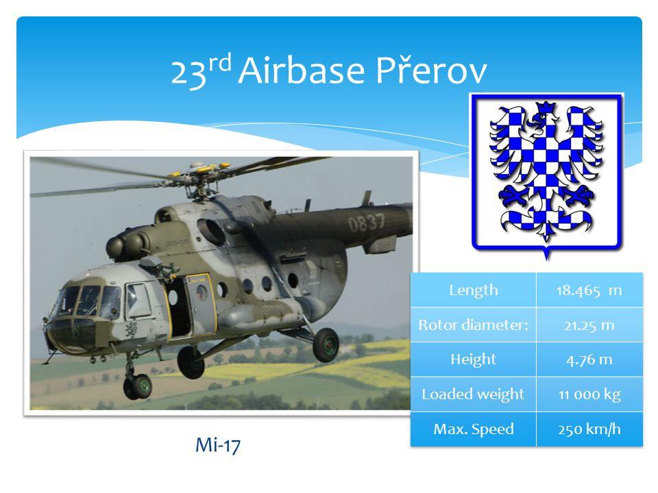 23 rd Airbase Přerov Mi-17