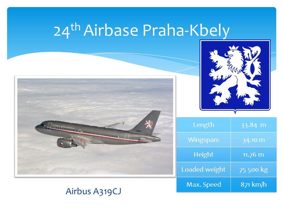 24 th Airbase Praha-Kbely Airbus A319CJ