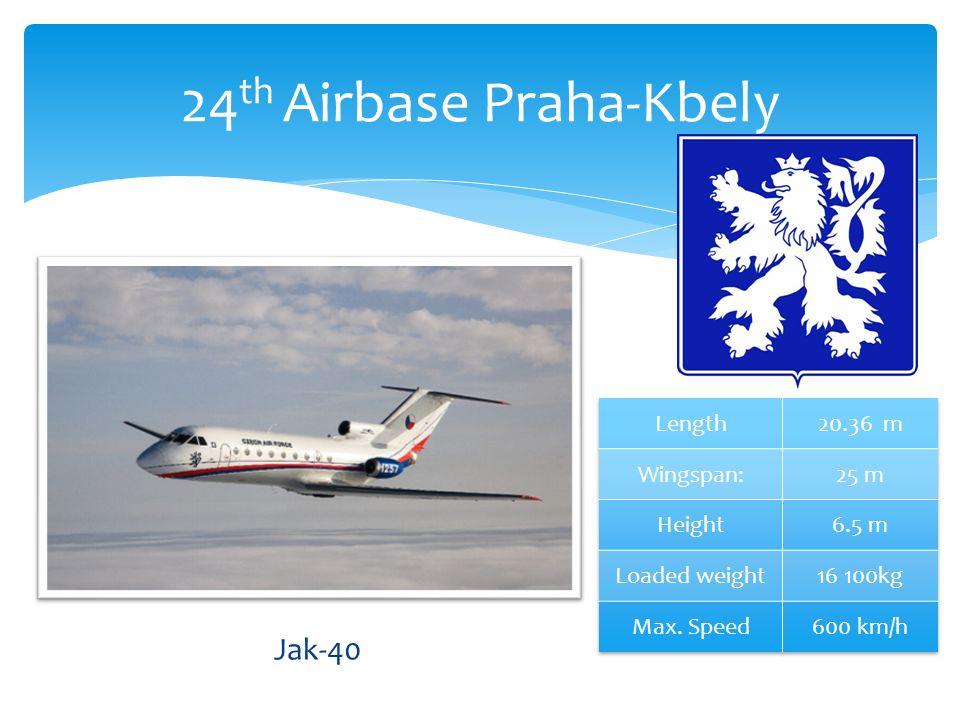 24 th Airbase Praha-Kbely Jak-40