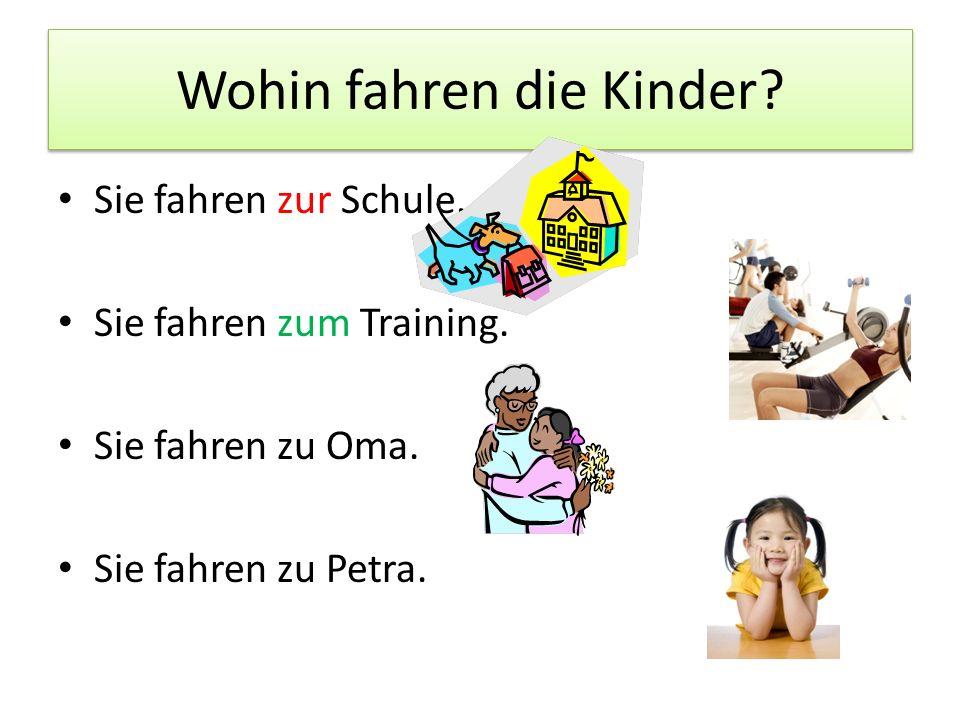 Sag das auf Deutsch.