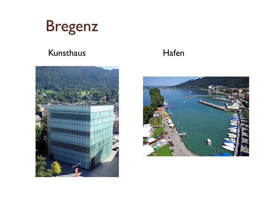 Bregenz Kunsthaus Hafen