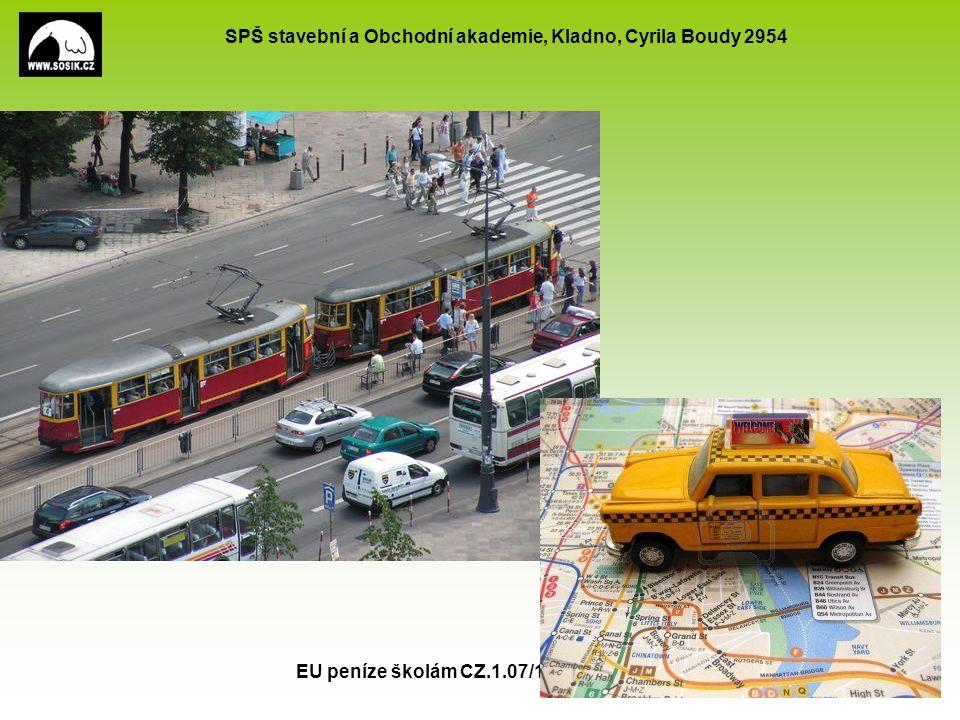 SPŠ stavební a Obchodní akademie, Kladno, Cyrila Boudy 2954 EU peníze školám CZ.1.07/1.5.00/34.0154 5