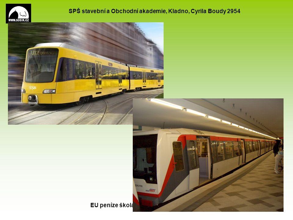SPŠ stavební a Obchodní akademie, Kladno, Cyrila Boudy 2954 EU peníze školám CZ.1.07/1.5.00/34.0154 6