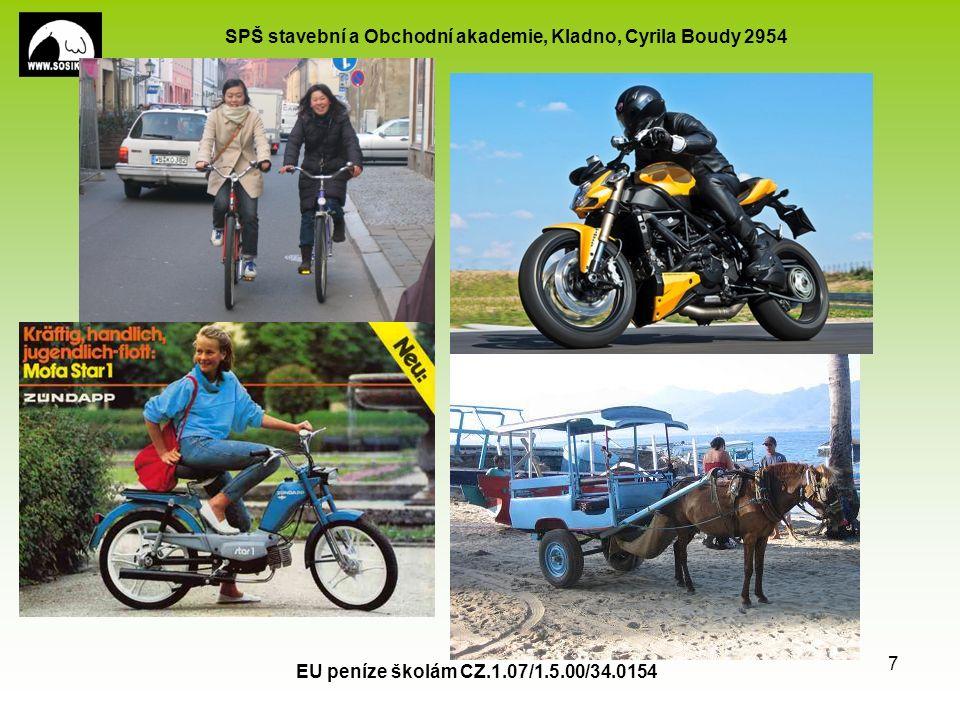 SPŠ stavební a Obchodní akademie, Kladno, Cyrila Boudy 2954 EU peníze školám CZ.1.07/1.5.00/34.0154 7