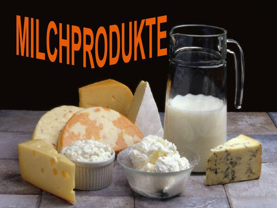 Zur Herstellung von Milchprodukten kommt Magermilch, fettarme Milch und Vollmilch zum Einsatz.