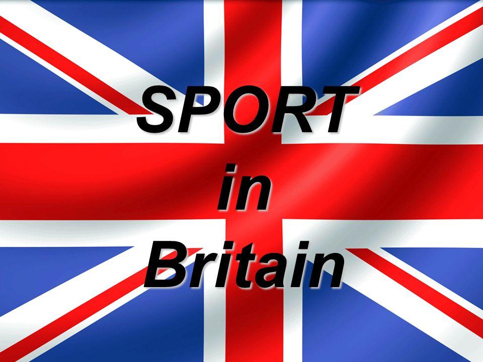 metodika Prezentace v anglickém jazyce o sportu v UK.