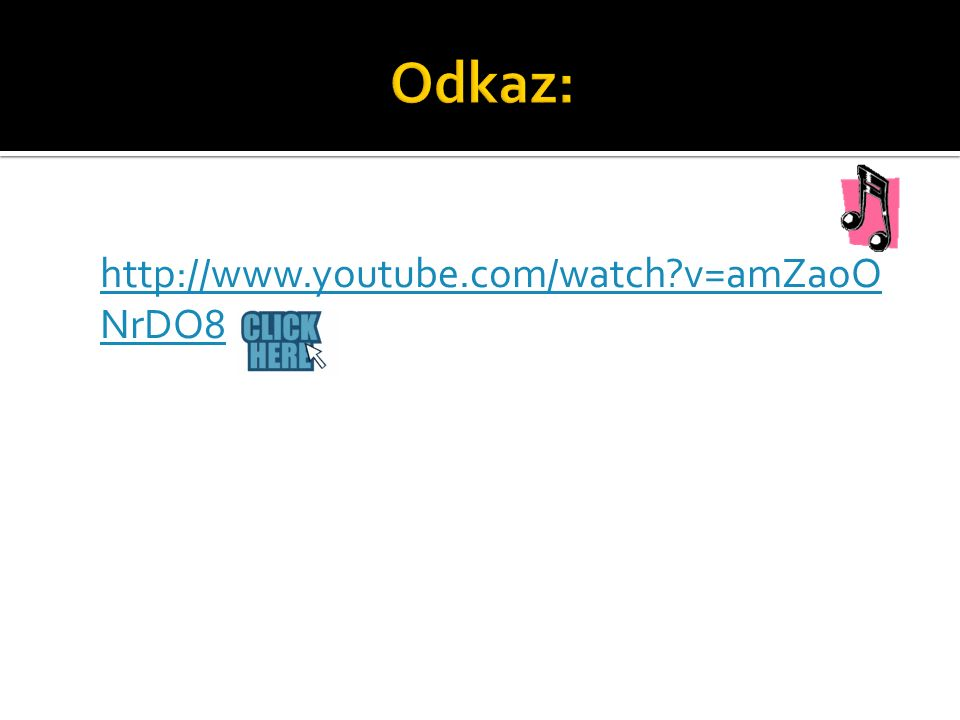 http://www.youtube.com/watch v=amZaoO NrDO8 http://www.youtube.com/watch v=amZaoO NrDO8