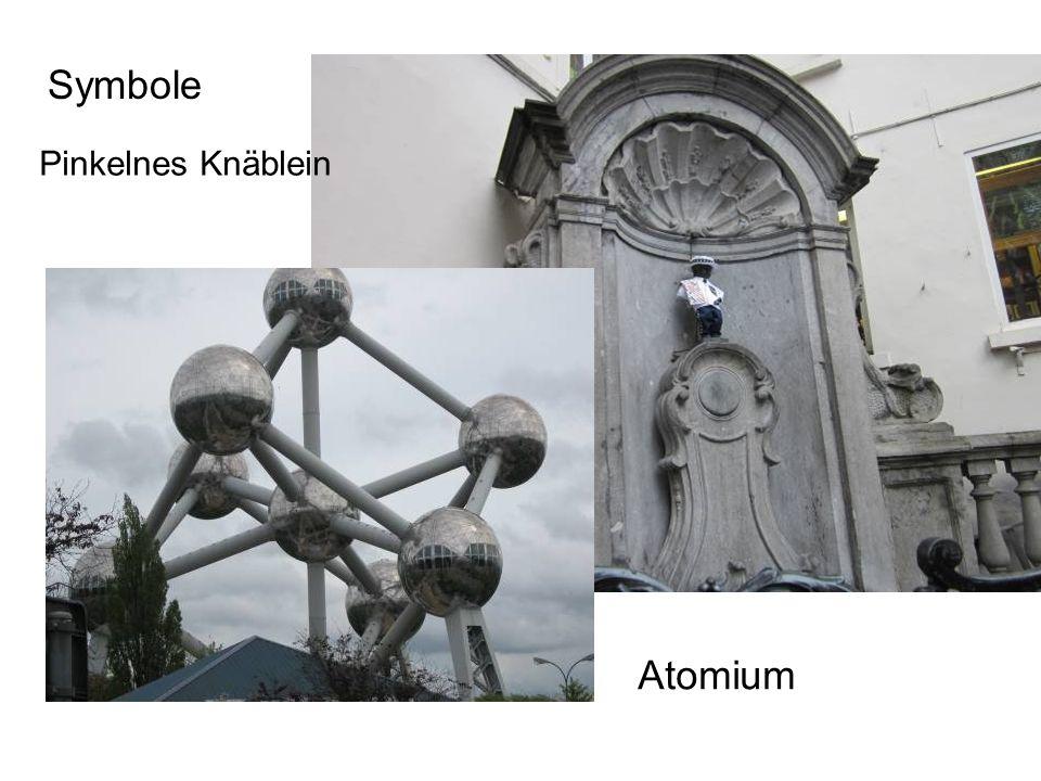 Atomium Symbole Pinkelnes Knäblein