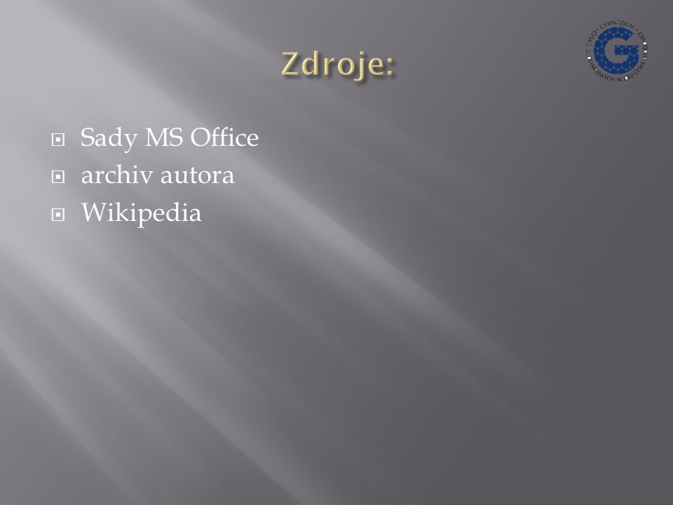  Sady MS Office  archiv autora  Wikipedia