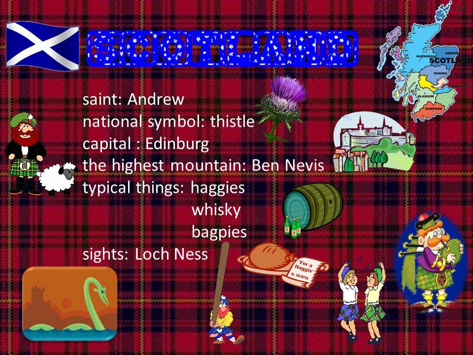 Cymru saint: David capital: Cardiff castles, Snowdonia national symbols: leak, daffodile red dragon