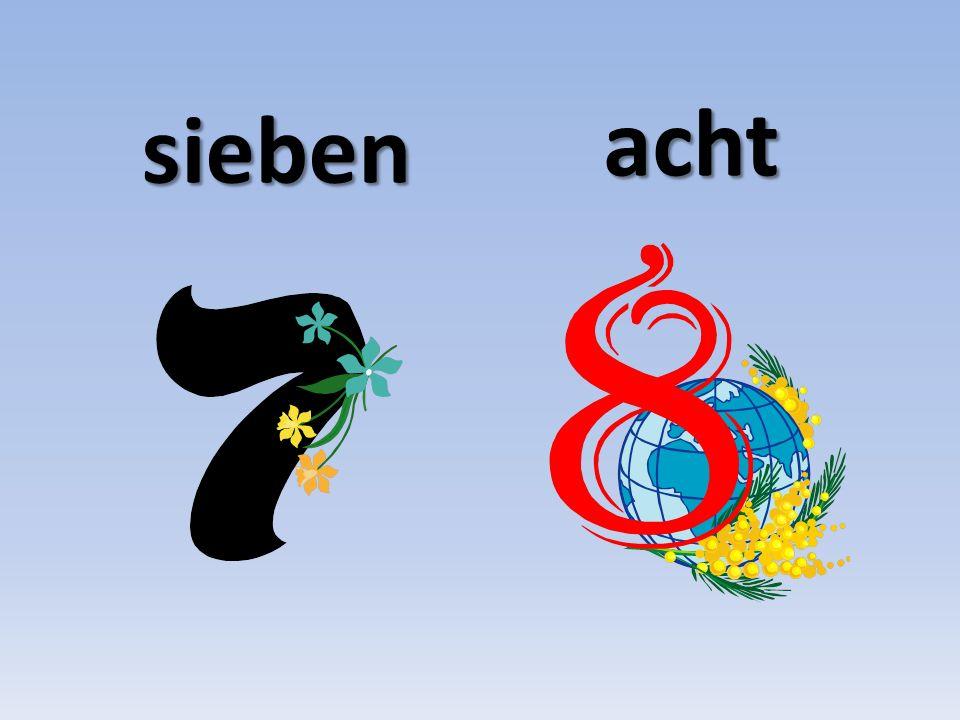 sieben acht