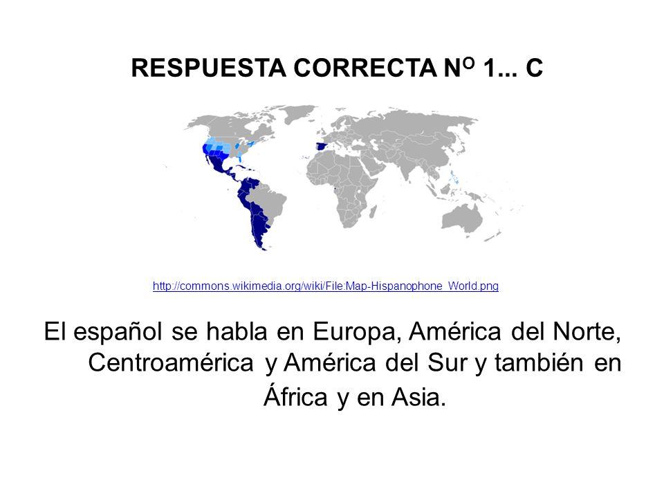 RESPUESTA CORRECTA N O 1...