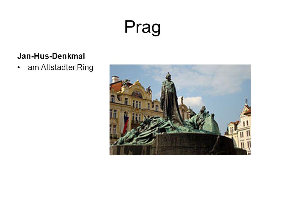 Prag Jan-Hus-Denkmal am Altstädter Ring