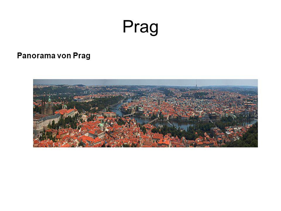 Prag Panorama von Prag