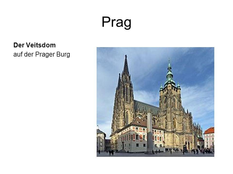 Prag Der Veitsdom auf der Prager Burg