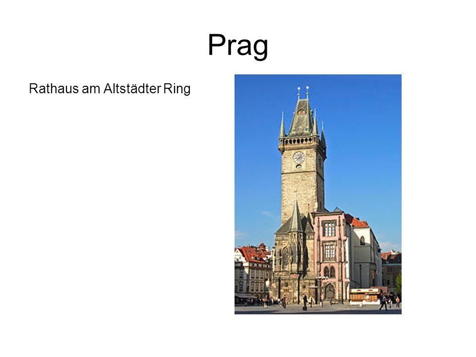 Prag Rathaus am Altstädter Ring