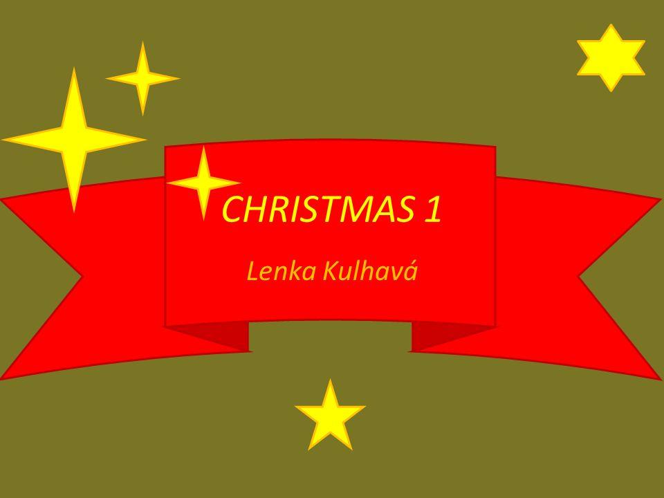 Lenka Kulhavá CHRISTMAS 1