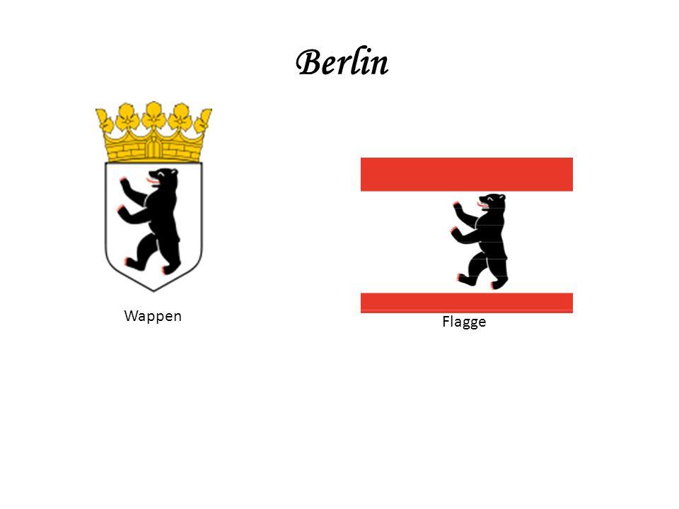 Berlin Wappen Flagge