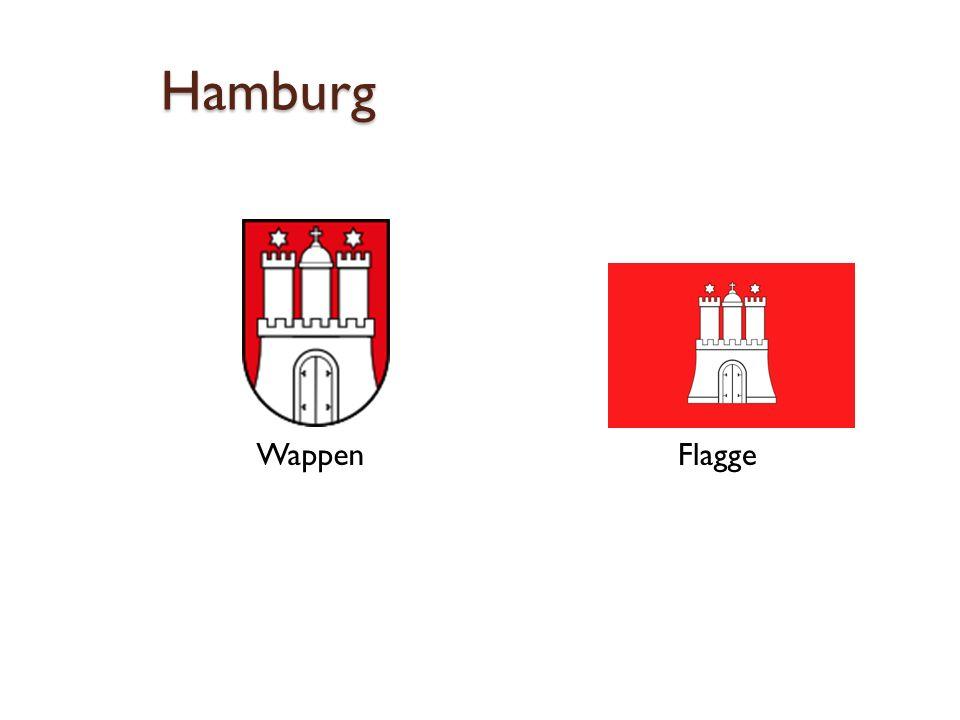 Hamburg Wappen Flagge