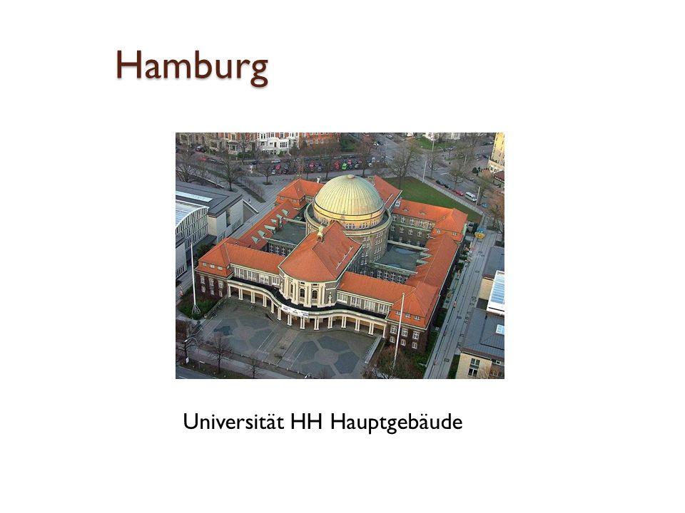 Hamburg Universität HH Hauptgebäude