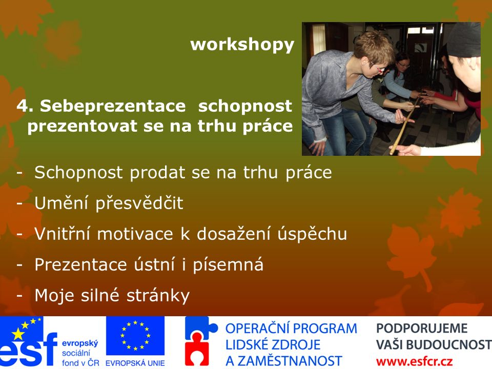 workshopy ­ 4.