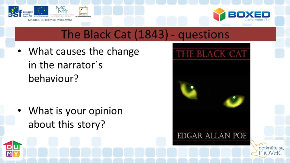 The Black Cat (1843) - questions What causes the change in the narrator´s behaviour.