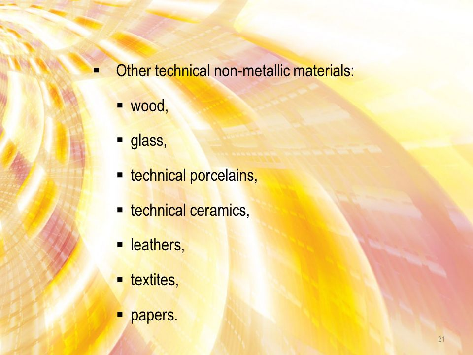 OTHER MATERIALS 20