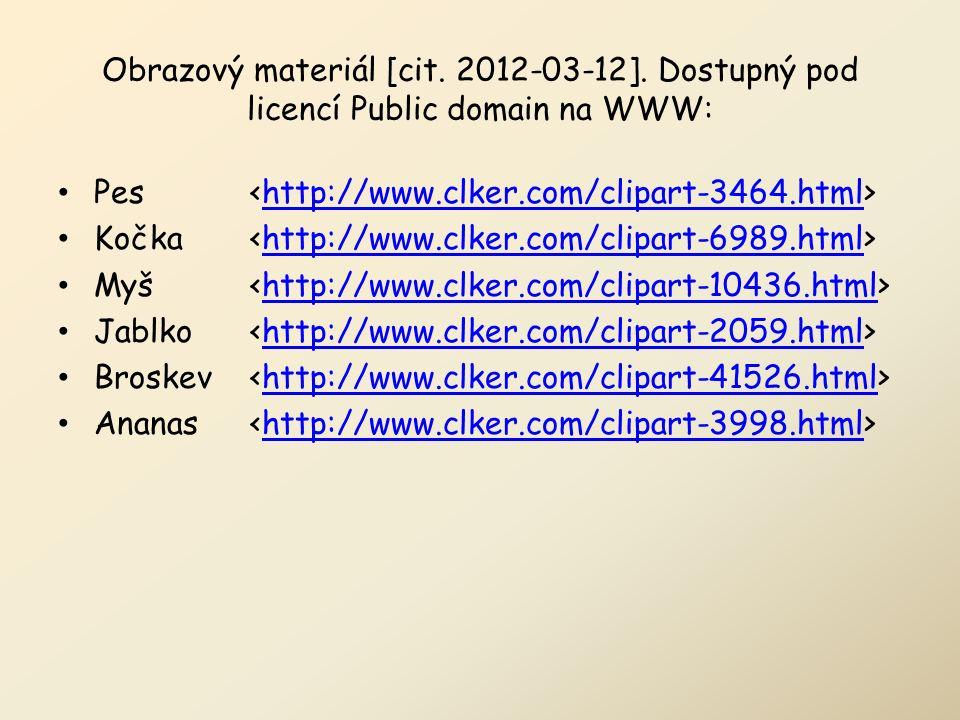 Obrazový materiál [cit. 2012-03-12].