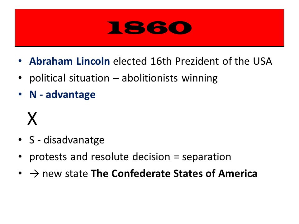Odkazy na zdroje: http://cs.wikipedia.org/wiki/Konfederovan%C3%A9_st%C3%A1ty_americk%C3%A9 http://cs.wikipedia.org/wiki/Ulysses_S._Grant http://cs.wikipedia.org/wiki/John_Brown http://cs.wikipedia.org/wiki/Abraham_Lincoln http://cs.wikipedia.org/wiki/Robert_Edward_Lee Prezentace a úlohy - autor