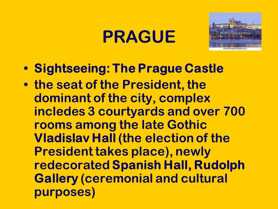 PRAGUE The Lesser Town, The Old Town Square, the New Town, Charles Bridge The National Theatre Wenceslas Sguare Population Culture/shopping